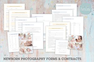 NG041 Newborn Photography Forms