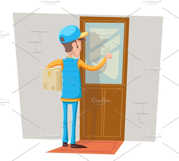 Delivering mail by hand designtube creative design content