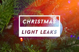 Christmas Light Leaks