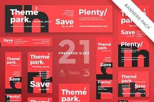 Banners Pack | Theme Park