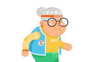 Sports Healthy Granny