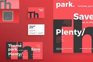 Print Pack | Theme Park