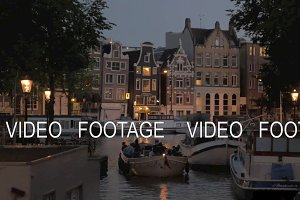 Romantic evening Amsterdam