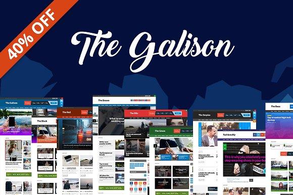The Galison Magazine Blog Theme