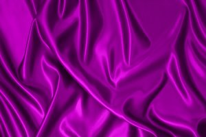 Purple satin fabric.