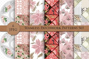 PATCHWORK seamless pattern set vol 1