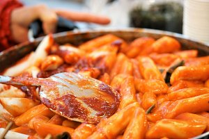 topoki korean street food