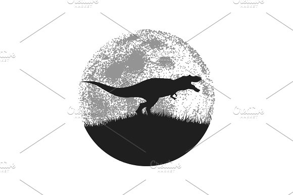 Silhouette Of The Tyrannosaur