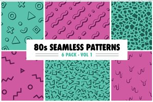 80s Random Pattern Pack