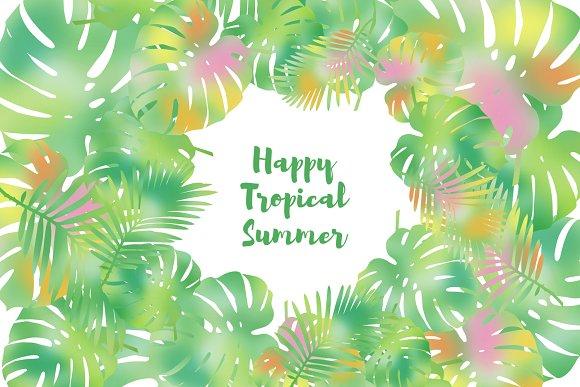 Set Tropical Design