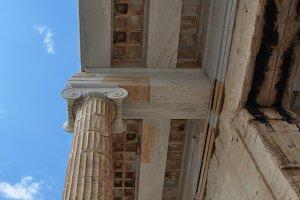 Ionic Column Ceiling