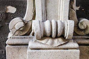 Stone Fountain Detail