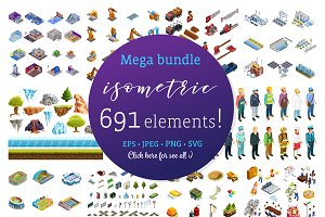 Mega Isometric Set