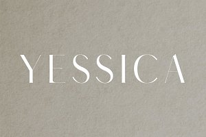 Yessica Sans Serif 4 Fonts Pack