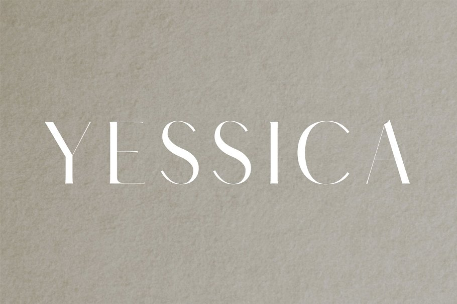 Yessica Sans Serif Fonts Pack