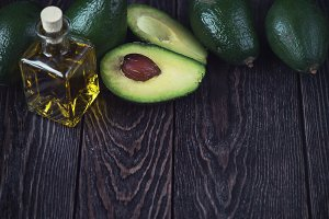 Oil of avocado