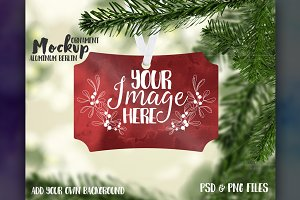 Berlin Sublimation Ornament Mockup