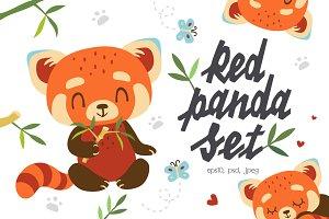 Red Panda Set