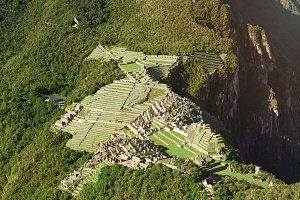 Ancient inca town Machu Picchu