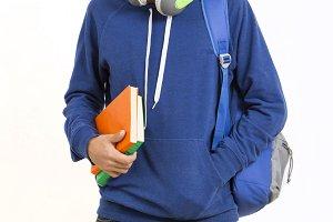 College student boy