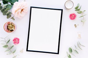 Styled stock photo - with frame
