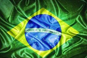 Brazil flag.