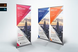 Corporate Roll up Banner - nex
