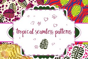 Trendy tropical patterns
