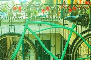 Turquoise Vintage Bike
