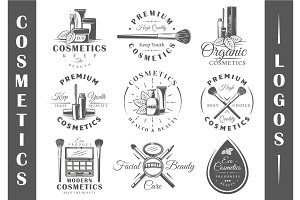 9 Cosmetics Logos Templates Vol.3