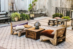 Vintage Patio Outdoor