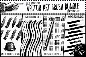 Vector Art Brush Bundle