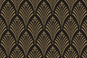 Art Deco style seamless pattern ~ Graphic Patterns ~ Creative Market