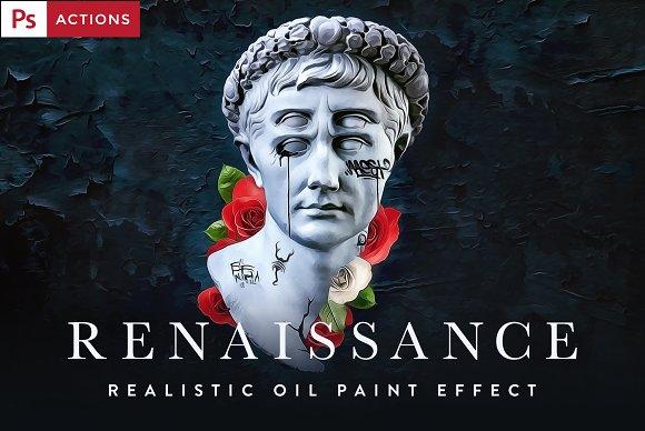 RENAISSANCE Oil Painting Actions