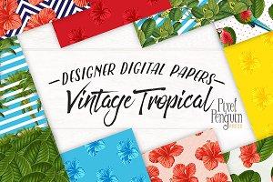 Tropical Digital Paper