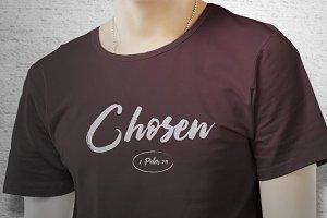 Chosen T-Shirt Art Template