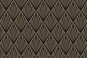 Art Deco seamless wallpaper