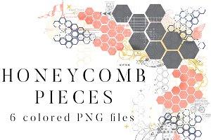 Honeycomb Pieces