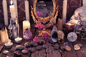 Mystic still life