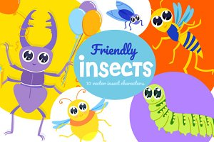 Friendly Insects
