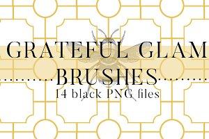 Grateful Glam Brushes