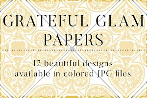 Grateful Glam Papers