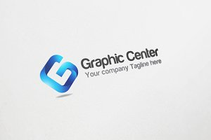 Graphic Center Logo Design