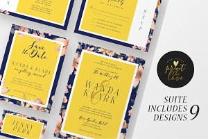 Wedding Invitation Suite - Wanda