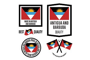 Antigua and Barbuda quality label set for goods