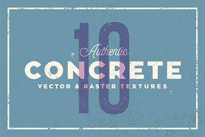 Concrete Textures (10 Pack)
