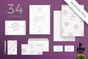 Branding Pack | Flower Shop