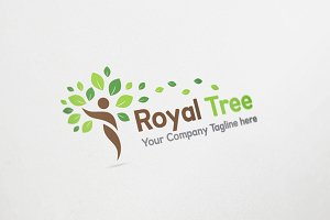 Royal Tree Logo Design