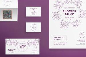 Print Pack | Flower Shop