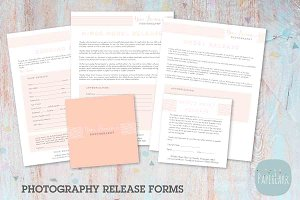 NG001 Photography Release Forms